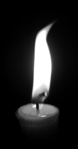 Candle B&W