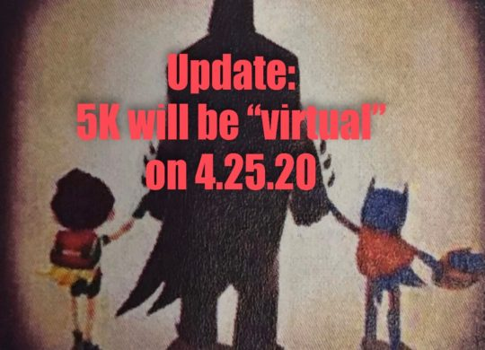 Save the Date for Our Virtual Superhero 5K for Child Abuse Awareness and Prevention