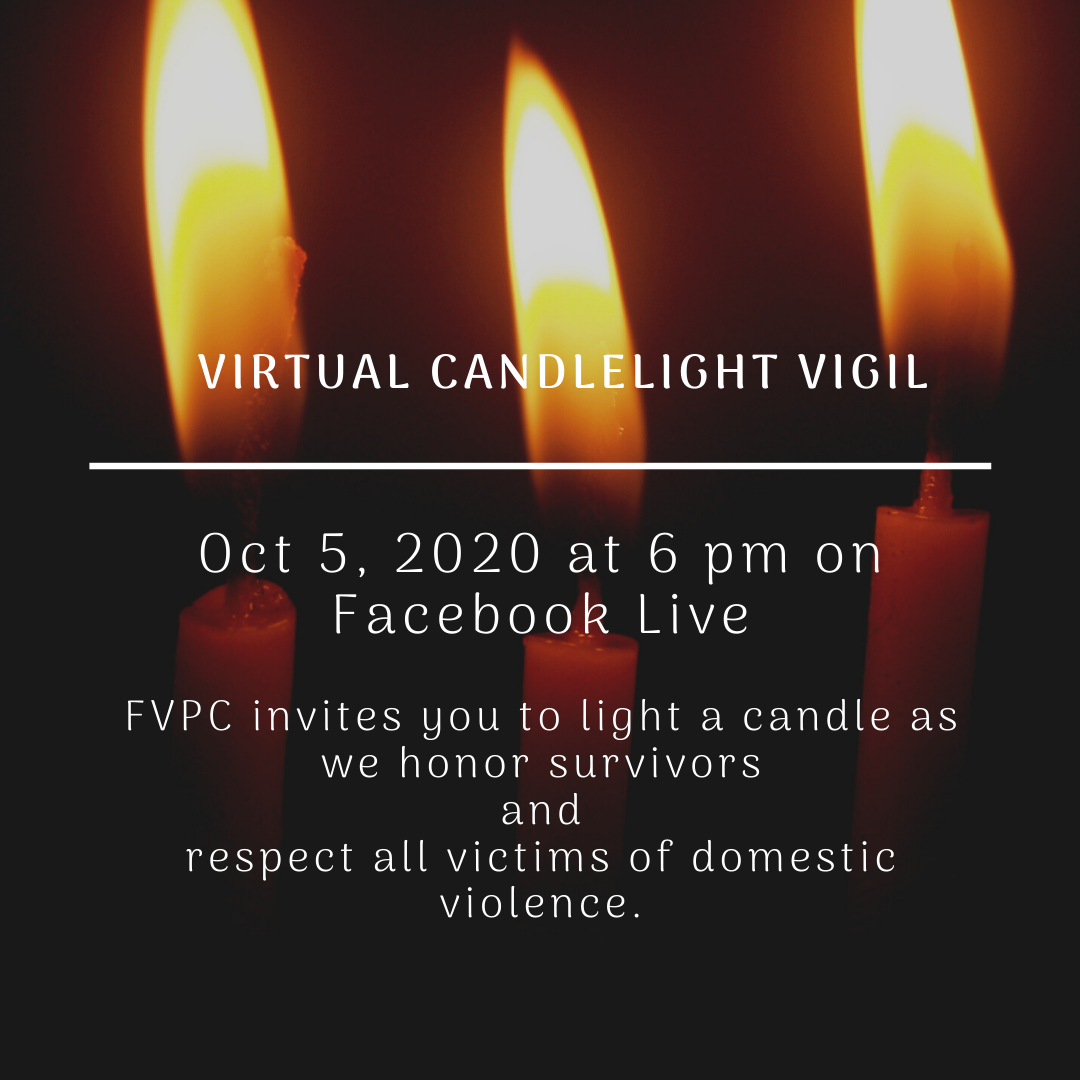 This year we are hosting our Candlelight Vigil on Facebook. Follow us so you can view and be a part of our annual vigil.