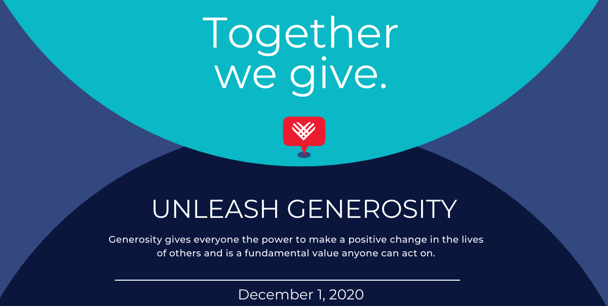 We are participating in Giving Tuesday on Dec. 1. Click here for your chance to give.