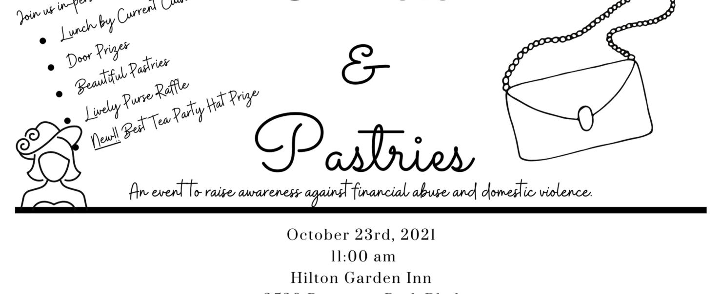 An October Fundraising and Awareness Event- Have We Mentioned There Will be Pastries?