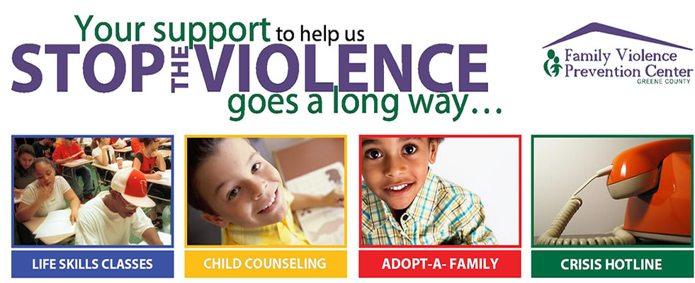 Your support helps us stop the violence